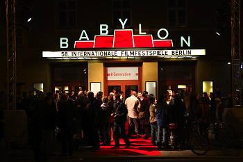 Biografen Babylon i Mitte, Berlin.