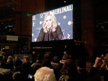 Madonna på teve i Berlin