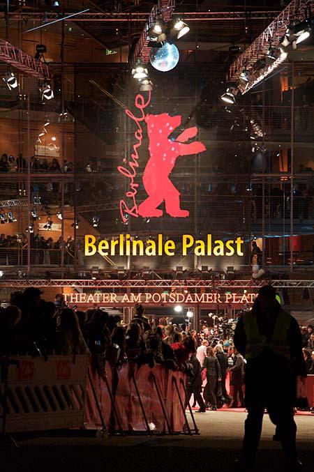 Berlinale Palast en premiärkväll