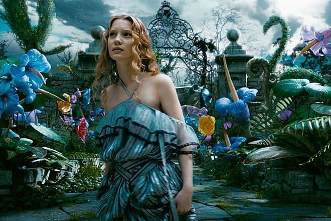 Mia Wasikowska i Alice i underlandet. Foto: Walt Disney Studios Motion Pictures