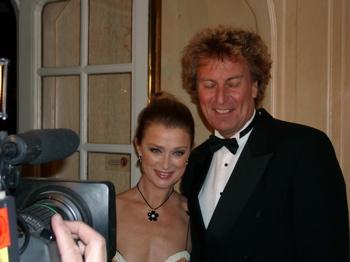 Lena Endre och Richard Hobert