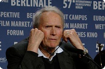 Clint Eastwood i Berlin. Foto: Esbjörn Guwaillus @ 2007 Film.nu