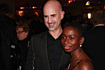 Michael Bindefeldt och Nyamko Sabuni.
