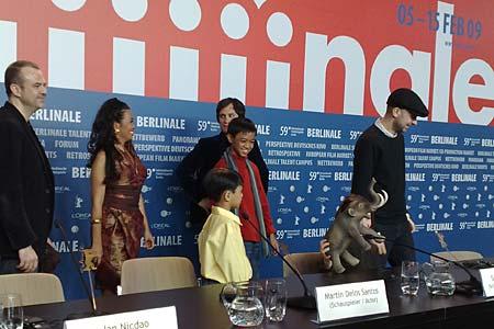 Presskonferens för Mammut i Berlin